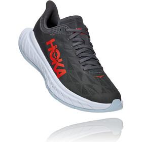 Hoka One One Carbon X 2 Shoes Men, dark shadow/fiesta